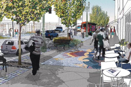 Streetscape plans for Broadway (Jose Huizar)