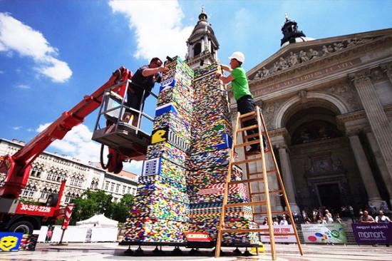 LEGO Tower (Courtesy So Bad So Good)