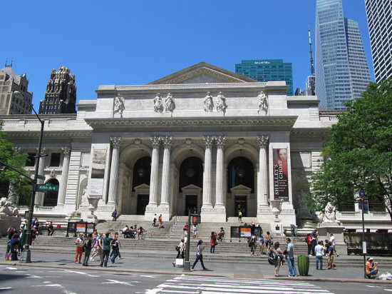 The New York Public Library branch in Midtown Manhattan. (Wikimedia Commons)
