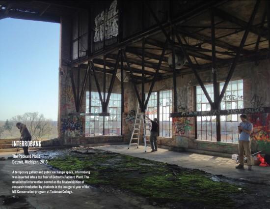 Interrobang in Detroit in 2013. (ArtPlace)