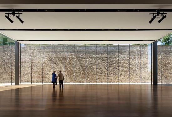 KieranTimberlake's Edgar N. Putnam Event Pavilion, James A. Michener Art Museum. (Michael Moran/OTTO)