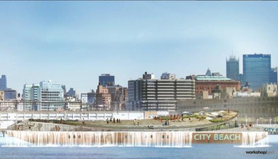 City Beach. (Courtesy workshop/apd)
