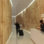 The reception area. (Pierre Levesque via PSFK and Prodigy Network)