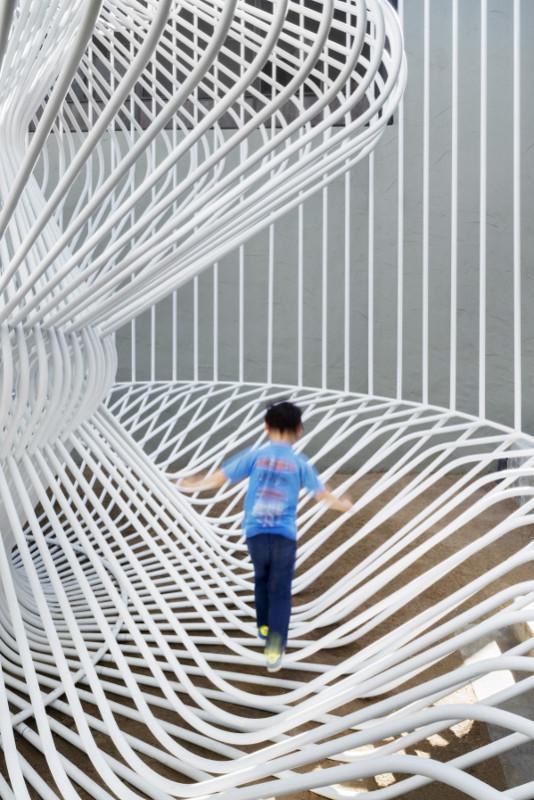 La Cage Aux Folles encourages active exploration. (Nick Cope)