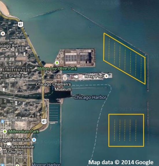 breakwater's summer locations (Google Maps)
