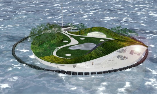 Recycled Island (Courtesy DesignVilla)