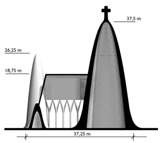 Pykrete Church (Courtesy Eindhoven University of Technology)