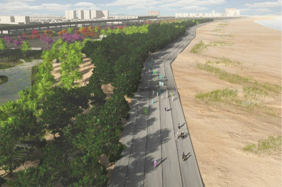 Rockaway East Resiliency Preserve (Courtesy Local Office Landscape Architecture)