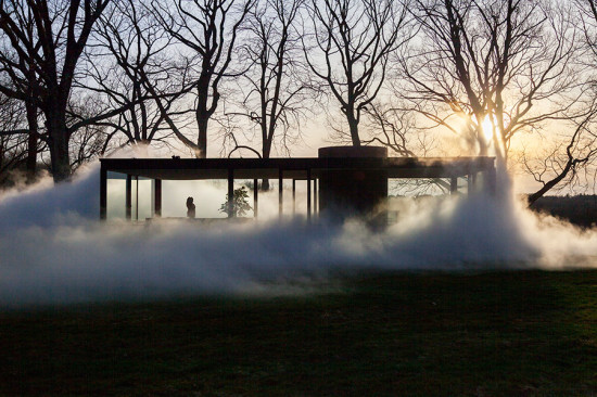 (Courtesy Philip Johnson Glass House)