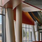 Music City Center's interior. (Courtesy tvsdesign)