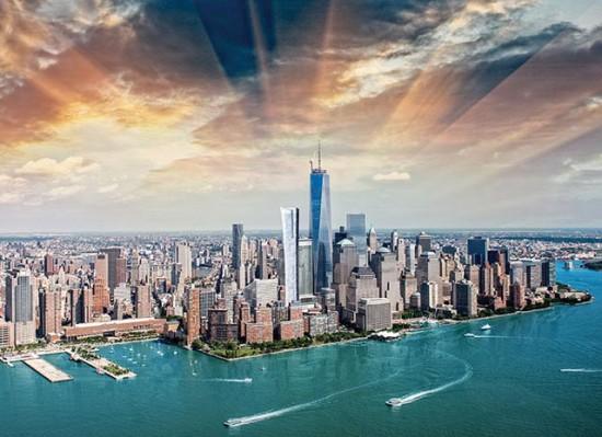 101 Tribeca and an impressive sky. (Courtesy Kohn Pedersen Fox)