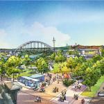 West Riverfront Park. (Courtesy Hawkins Partners)