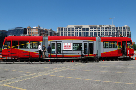 A D.C. streetcar. (Flickr / Mr.TinDC)