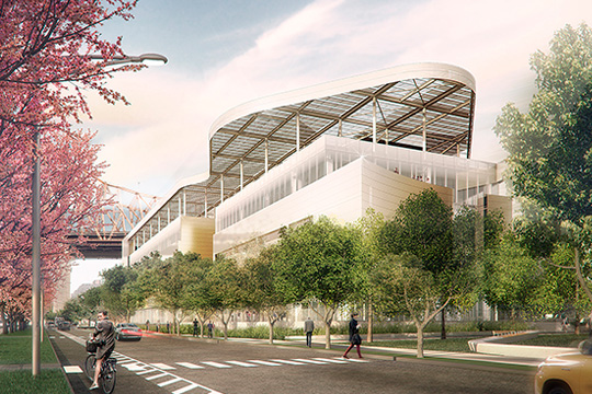 Cornell Tech First Academic Building. (Morphosis Architects)