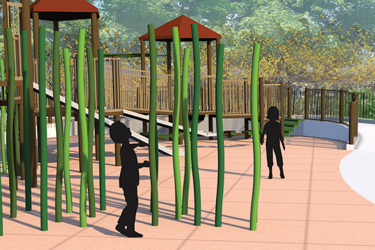 Sunset Park Playground Reconstruction. (Department of Parks and Recreation)