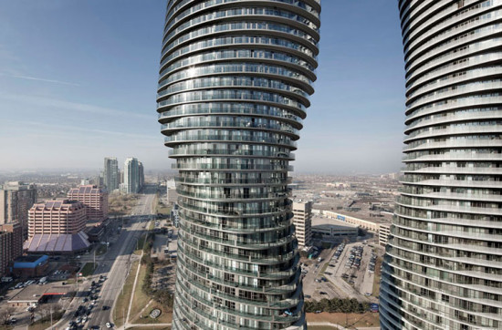Absolute Towers in Mississauga, Ontario, by MAD Architects. (Tom Arban)
