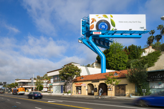 LOHA billboard on the Sunset Strip. (Laurence Anderson)