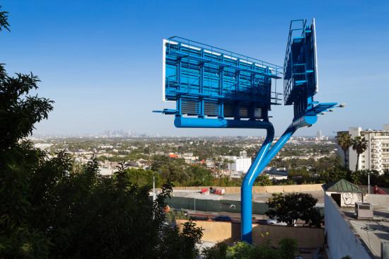 Back side of LOHA billboard (Lawrence Anderson)