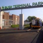 Recent photo of Bush Terminal Park. (Courtesy NYC EDC)