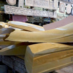 The molds, and corresponding panels, are between three and five feet in length. (Courtesy B+U)