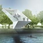 Subtle, almost ghostly, kayaking in Denmark. (Courtesy Arkitekter)