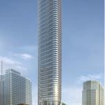 The 750-foot tower. (Courtesy Adrian Smith + Gordon Gill)