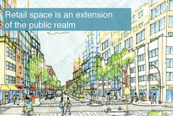 HPD's plan for retail corridors. (Courtesy of Design Trust for Public Space)