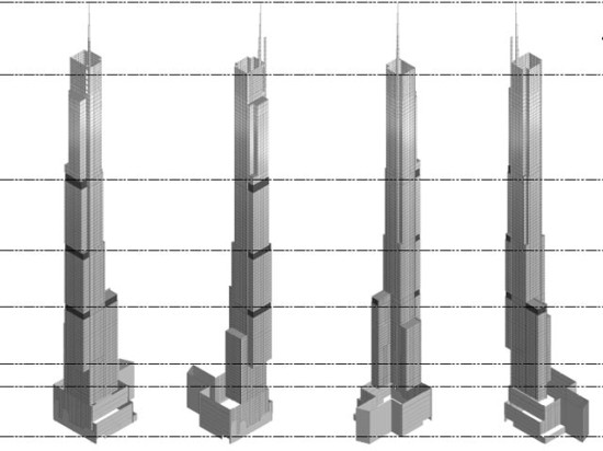 Drawings of Nordstrom Tower. (Via NY YIMBY)