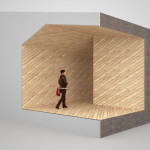 The architects used digital models to explore the building's materiality. (Courtesy Allied Works Architecture)