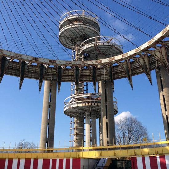 New York State Pavilion. ((Henry Melcher / AN)