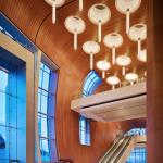 Overhead lighting at Music City Center. (Courtesy tvsdesign)