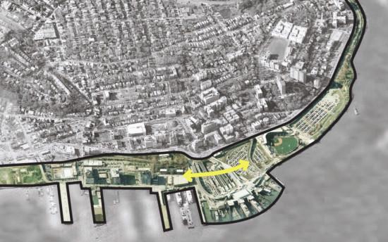 Staten Island's North Shore corridor. (Courtesy of Design Trust for Public Space)