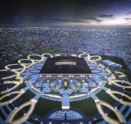 World-Cup-Qatar-Al-Bayt-Stadium-Archpaper