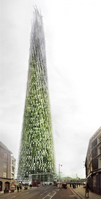 Recycled Skyscraper London (Courtesy Chartier-Corbasson)