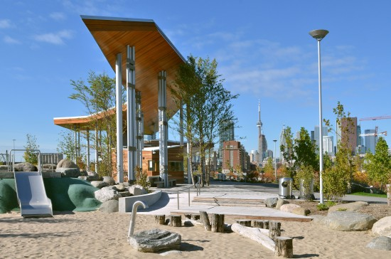 Corktown Common Pavilion. (Courtesy ARUP)