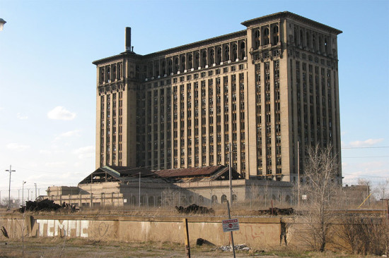 Detroit's Michigan Central Station. (Juan N Only / Flickr)