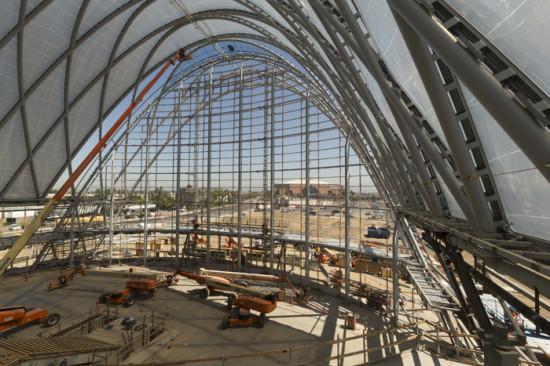 Inside the ARTIC station, under construction (Tom Fox)
