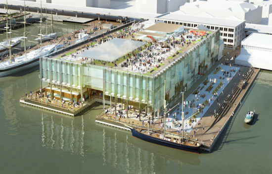 SHoP's Pier 17. (Courtesy SHoP Architects)