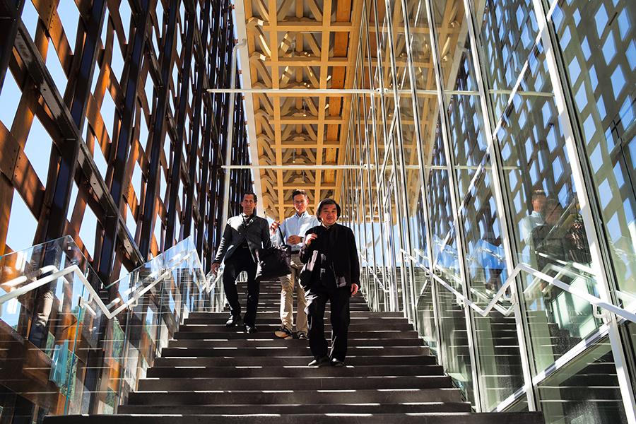 Shigeru Ban Designed Aspen Art Museum Opens With A Bang