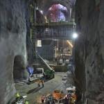 East Side Access underneath Manhattan.  (Courtesy Metropolitan Transportation Authority / Patrick Cashin)