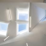 Strategically-placed windows and skylights illuminate the interior. (Michael Moran/OTTO)
