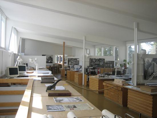 Aalto's studio. (Flickr / Lydia gonzález dios)