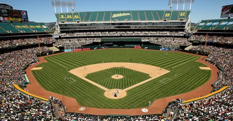 Oakland County Coliseum (Oakland A's)