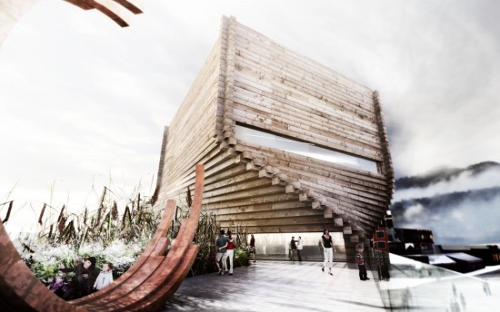 BIG's first design. (Courtesy Bjarke Ingels Group)