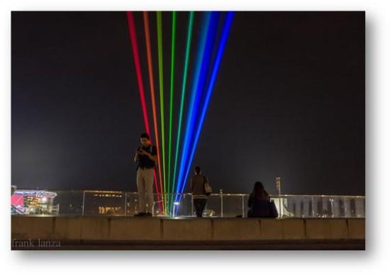 Global Rainbow  by artist Yvette Mattern. (Frank Lanza)