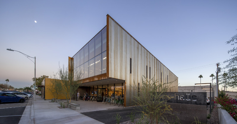 Debartolo Architects Weathering Steel Bicycle Gallery
