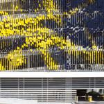 The garage's deep overhang complicated installation. (Serge Hoeltschi)