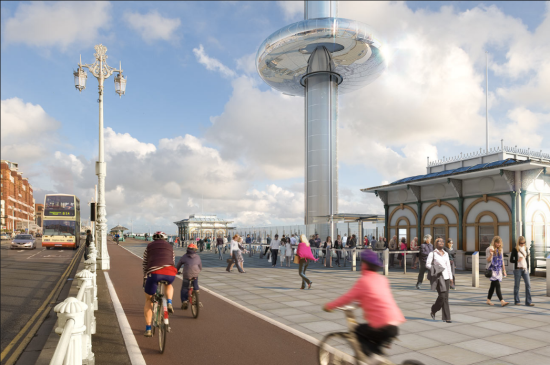 i360 Brighton. (Courtesy Marks Barfield Architects)