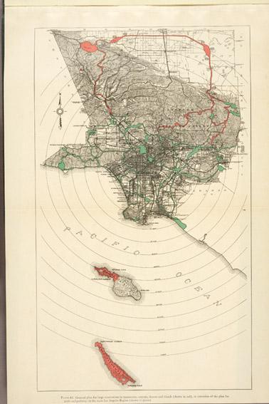 Olmsted and Bartholomew Plan (Huntington Library)