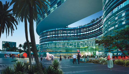 What could have been - OMA's plan for Miami Convention Center. (Courtesy OMA)
